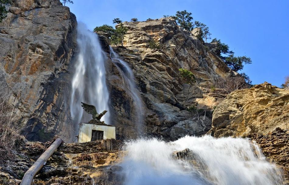 Лучшие водопады Крыма